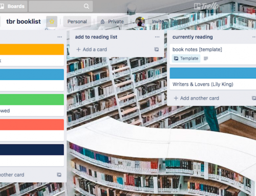 tracking your tbr book list with trello
